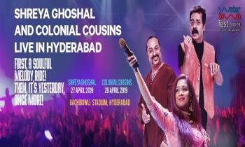 Shreya Ghoshal and Colonial Cousins Live