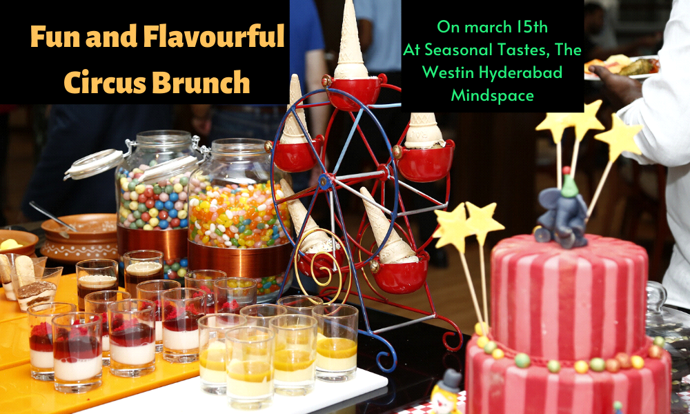 Fun and Flavourful Circus Brunch