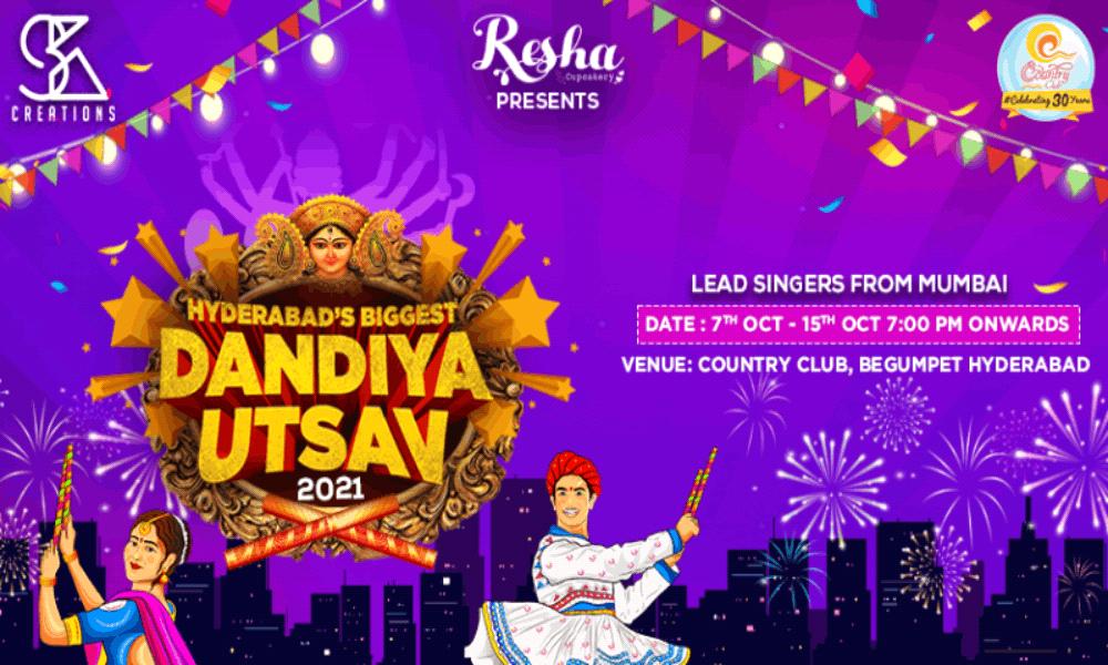 Hyderabad's Biggest Dandiya Utsav 2021