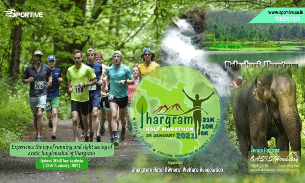 Jhargram Half Marathon 2021