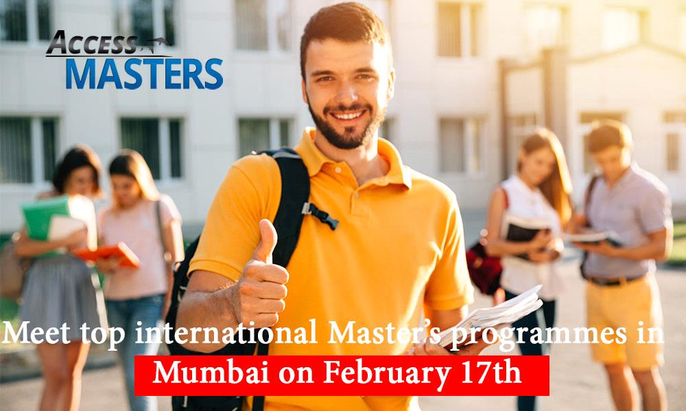 Meet top international Master's programmes in Mumbai