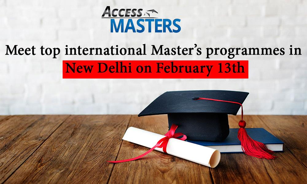 Meet top international Master's programmes in New Delhi