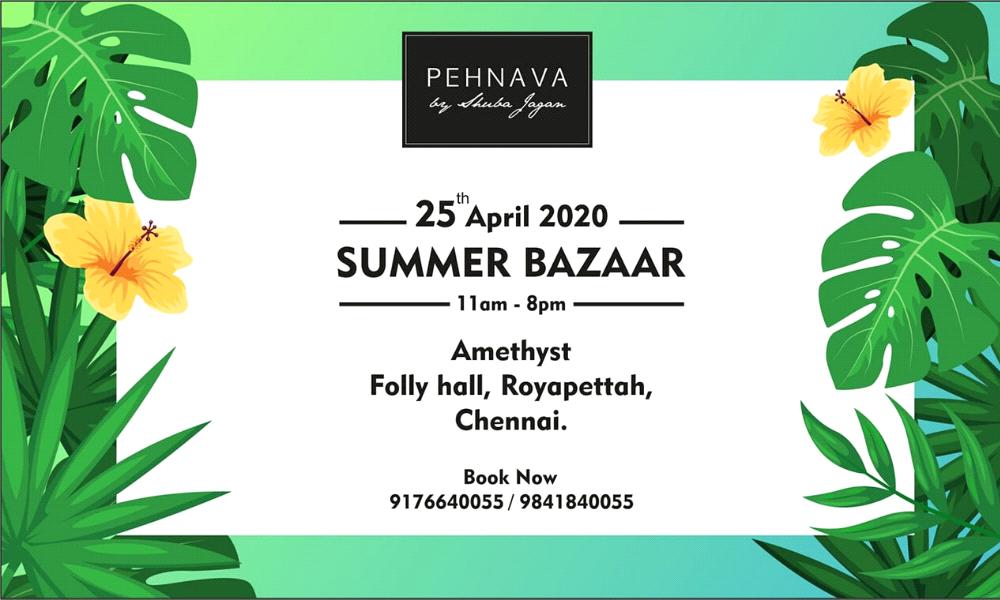 PEHNAVA Summer Bazaar
