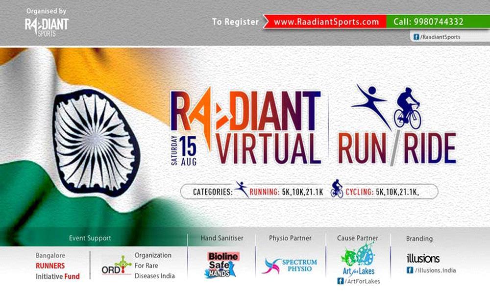 Raadiant Virtual Run and Ride