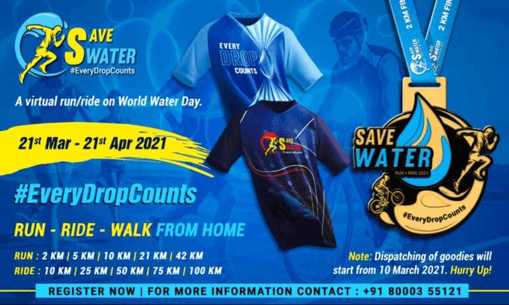 Save Water Run - Ride 2021