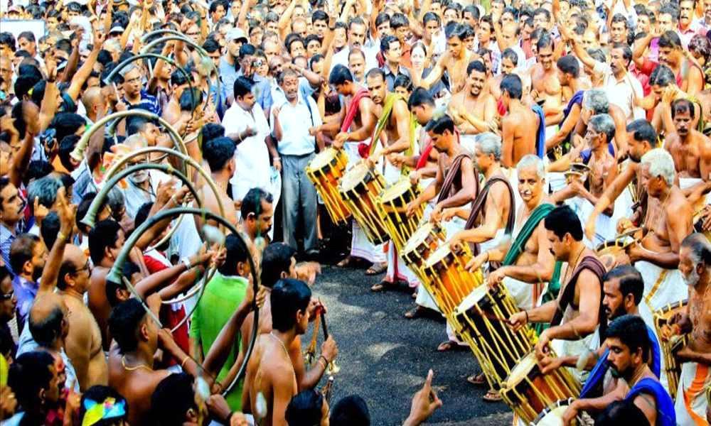 Thrissur Pooram 2020