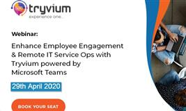 Webinar: Enhance Employee Engagement & IT Service Ops in Pandemic Crisis