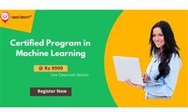 Certified Program In Machine Learning