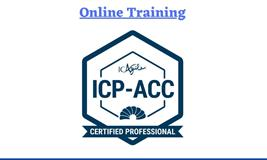 Certified Agile Coaching (ICP-ACC) Certification Online Training