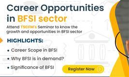 Career opportunities in BFSI sector