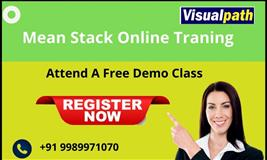 Mean Stack Online Training In Hyderabad