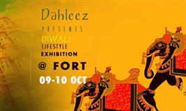 Dahleez Diwali Lifestyle Exhibition @ Fort, Jaipur - BookMyStall
