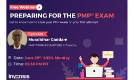 Free Webinar - Preparing for the PMP Exam