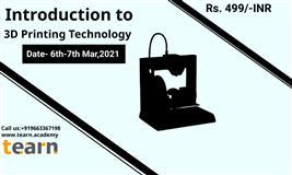 Introdution to 3d printing technology