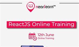 ReactJS Online Training Starting from 12th June 2021