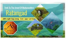 Sonki Flower Special One Day Trek to Ratangad* (The Jewel of Sahyadri)