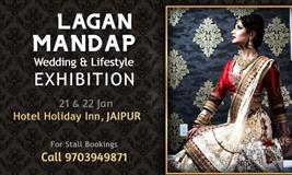 Lagan Mandap Wedding & Lifestyle Exhibition at Jaipur