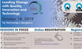 """8th Regional Quality Conclave on the theme """"Leading Change with Quality, Innovation and Technology"""""""