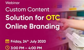 Webinar on Custom Content Solution for OTC Online Branding