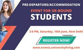 An Exclusive UK Pre-Departure/Accommodation Event For Students In Delhi NCR