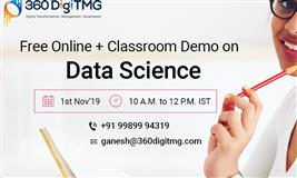 Free Online + Classroom Demo On Data Science