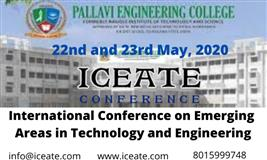 International Conference on Emerging Areas in Technology and Engineering