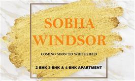 SOBHA WINDSOR WHITEFIELD - Pre Project | 8860956846 Bangalore