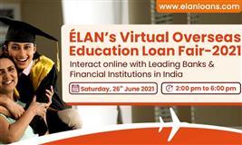 ELAN's Virtual Overseas Education Loan Fair-2021