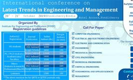 International Conference on Latest Trends in Engineering and Management-19