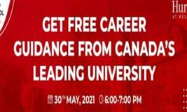 Admission into a leading University in Canada in 2021