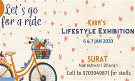 KARM - Fashion & Lifestyle Exhibition at Surat - BookMyStall