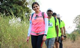 15th Edition Of India's Biggest Walkathon Oxfam Trailwalker India