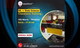 ML-Data Science Classroom Training Weekday course in Bangalore