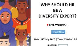 [Free Webinar] Why should HR be a diversity expert?