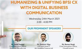 Humanizing & Unifying BFSI CX With Digital Business Communication