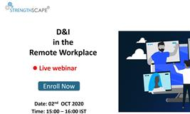 [Free Webinar] D&I in the remote workplace