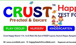 Online Art/Drawing Competition organized by Crust Play School in Bangalore.