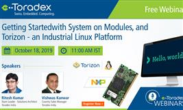 Getting Started with System on Modules, and Torizon - an Industrial Linux Platform