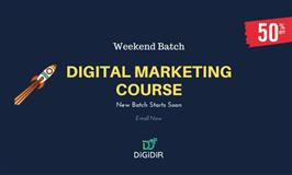 Digital Marketing Course- Weekend Classes