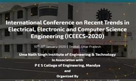 International Conference on Recent Trends in Electrical, Electronic and Computer Science Engineering