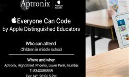 Free Coding Workshop by Apple Distinguished Educators