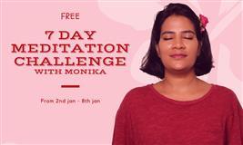 7 Days FREE meditation challenge with Monika (online event)