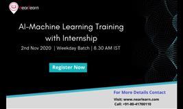 AI-Machine Learning training with Internship in Bangalore