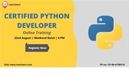 Certified Python Developer Training in India