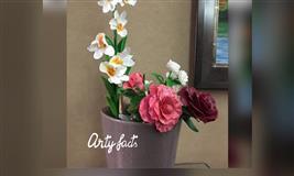 Thai Clay Flower Making