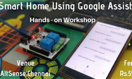 Smart Home using Google Assistant