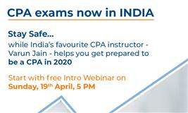 Great News: US CPA exams now in INDIA - Miles Education
