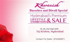 Khwaaish Dushera Special Exhibition at Hyderabad - BookMyStall