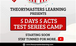 5 Days 5 Acts Test Series