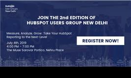 New Delhi Hubspot User Group Meetup